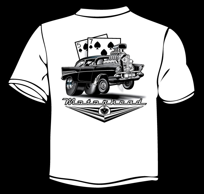 1957 chevy shirt