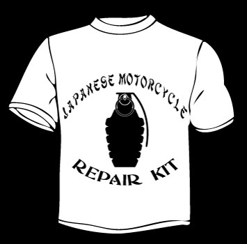 Japanese motorcycle repair kit